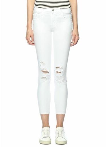 J Brand Jean Pantolon Beyaz